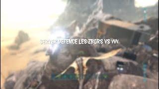 Ark PVP OFFICIAL - DEFENSE SERVER 75 Vs VVv