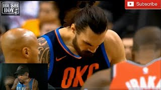Steven Adams Was The REASON For Raptors Frustration With Refs   Rodman-Level Mind Games!!