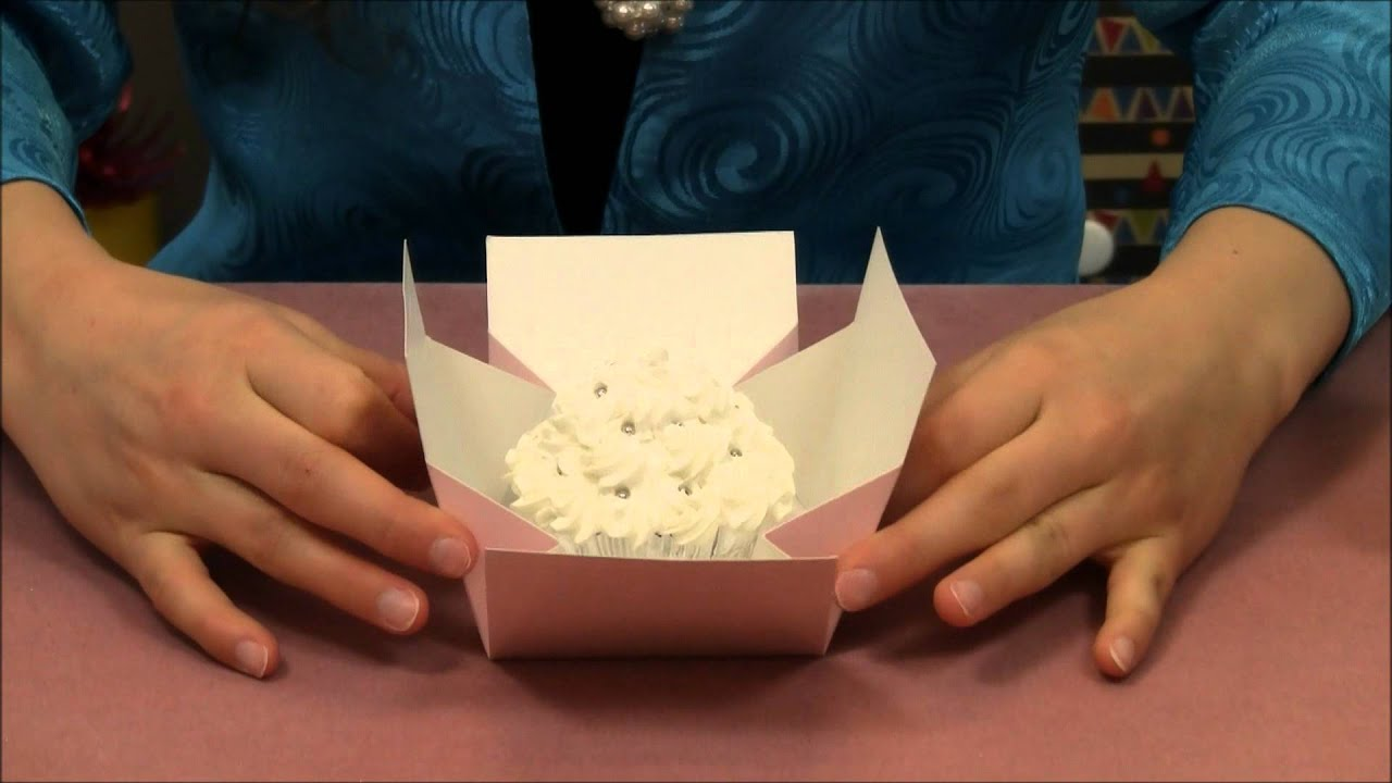 how to make a wedding cake box for cards pink easy removal cupcake box 15885