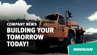 (2012 Corporate AD) Doosan Infracore- Building your tomorrow today! Thumbnail