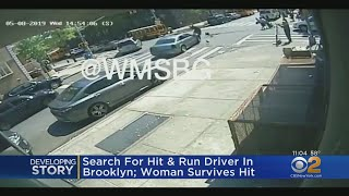 Search For Hit & Run Driver In Brooklyn, Woman Survives Hit
