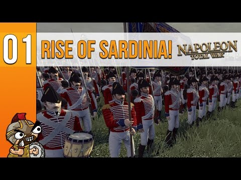 "Rise of Sardinia - Part 1 - ""Taking the Italian Mainland!"" Napoleon Total War [Modded]"