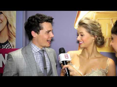 Andrew Morley and Kassandra Clementi at the 2014 Logies