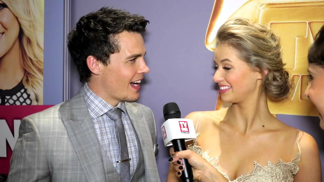 Andrew Morley And Kassandra Clementi At The 2014 Logies Youtube