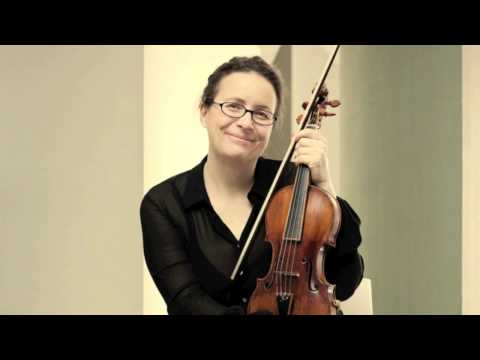 JS Bach Partita No. 2 in D-minor BWV 1004 - Sarabande (Christine Busch)
