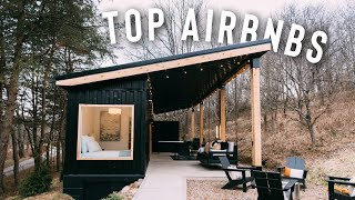 TOP 5 AIRBNBS TO STAY AT! | (container homes, treehouses, tiny homes)