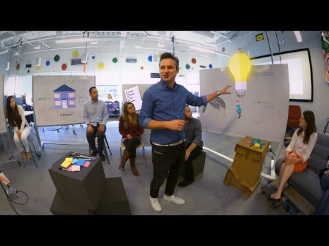 Virtual Reality: Inside Google's Innovation Lab