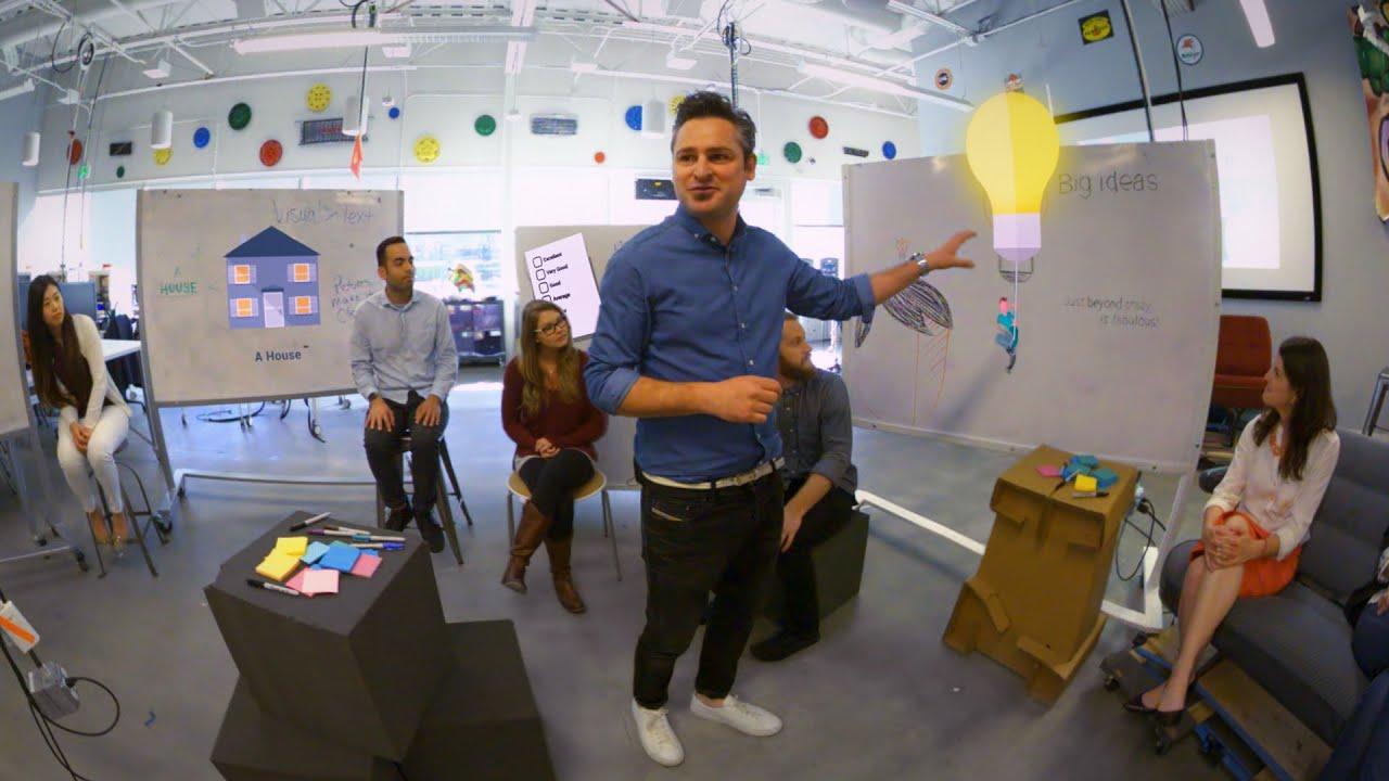 Virtual Reality: Inside Google's Innovation Lab - YouTube