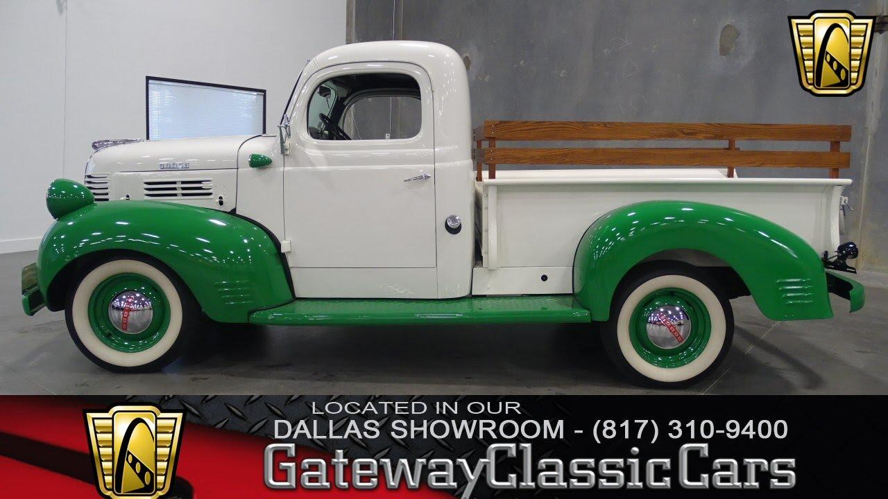 1946 Dodge Pickup Stock #247 Gateway Classic Cars of Dallas - YouTube
