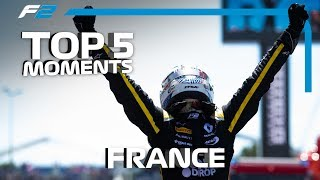 Top 5 Formula 2 Moments | 2019 French Grand Prix