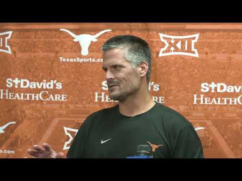 The Bottom Line - Todd Orlando And Tim Beck Address The Media Ahead Of Texas vs. Kansas