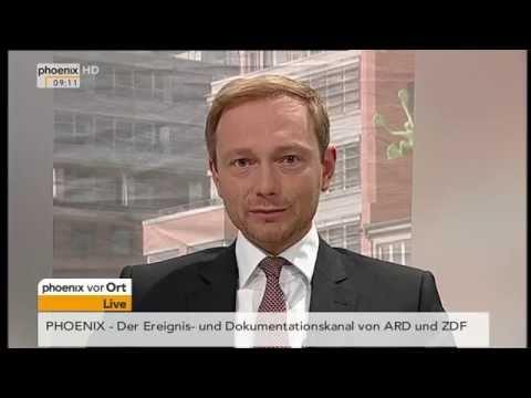 Christian Lindner zur Lage der FDP im...