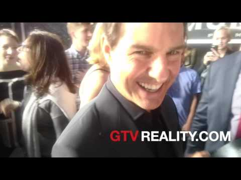 Tom Cruise laughing it up on GTV Reality