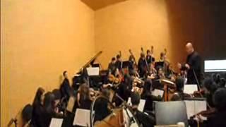 Orquestra de Corda CMUS Ourense. Concerto Intercambio co Conservatorio de Pontevedra.