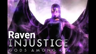 Injustice Gods Among Us - Modo História: Raven - Playthrough (Pc Gameplay PT-BR)