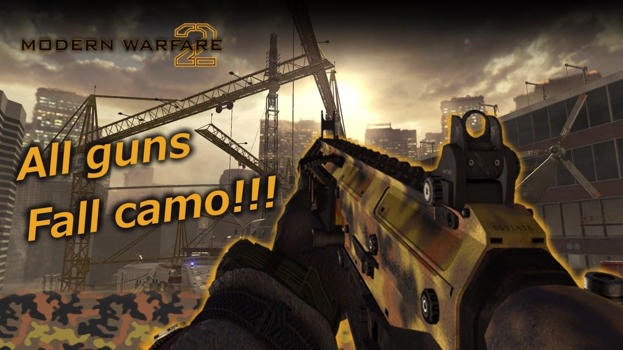 Fall Camo Mw2
