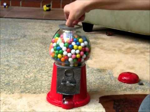12 inch gumball machine