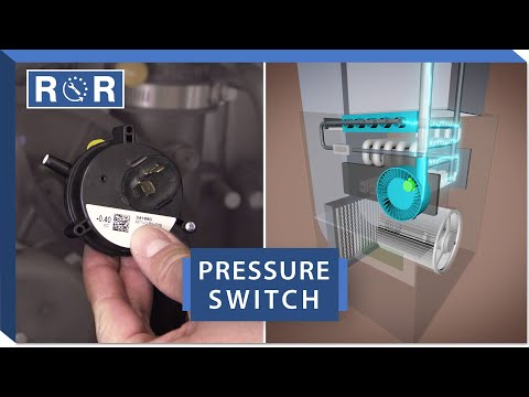Furnace - Pressure Switch | Repair and Replace - YouTube