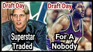 Dirk Nowitzki TRADED For A Nobody!! | Looking Back At The Worst NBA Draft Day Trades!!