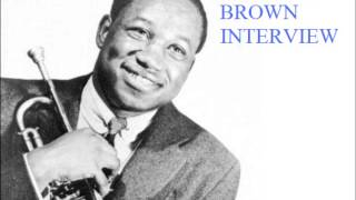 Clifford Brown, interview