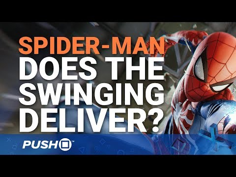 Marvel's Spider-Man PS4: How Good Is the Swinging? | PlayStation 4 | PS4 Pro Gameplay