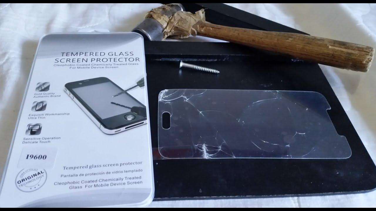 Protector De Pantalla Iphone  Cristal Templado