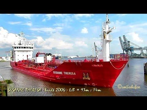 SUSANNE THERESA OVJP2 IMO 9334404 Emden Germany chemical tanker seaship merchant vessel Seeschiff