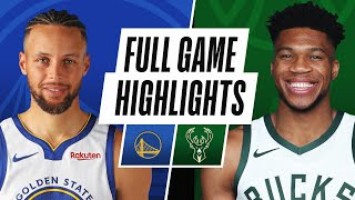 Game Recap: Bucks 138, Warriors 99