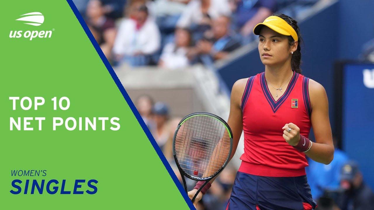 Top 10 Net Points | Women's Singles | 2021 US Open