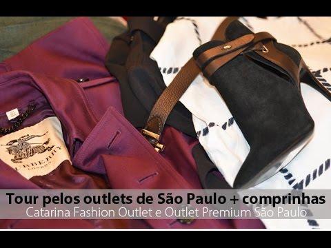 Tour pelos outlets Premium e Catarina, de São Paulo + minhas comprinhas