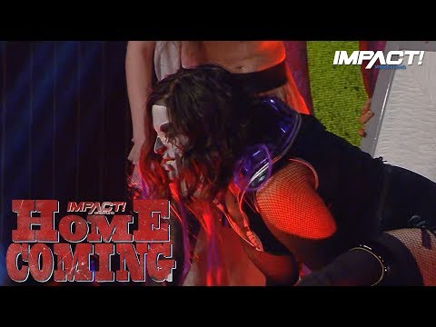 ROSEMARY RETURNS to Confront Allie! | IMPACT Wrestling Homecoming Highlights