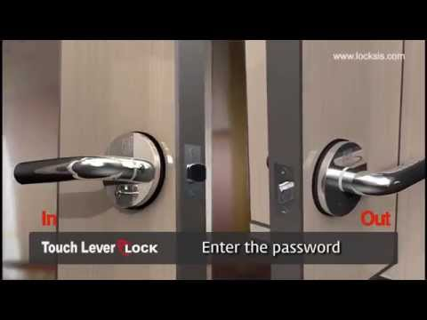 Locks Electronic Keyless Electronic Smart Lever Lock