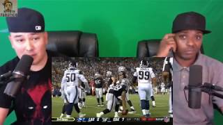 Rams vs Raiders | Reaction | NFL Week 1 Game Highlights