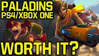 Paladins PS4 Review – WHY YOU SHOULD PLAY IT (Paladins free PS4 –  Paladins Xbox One Review)