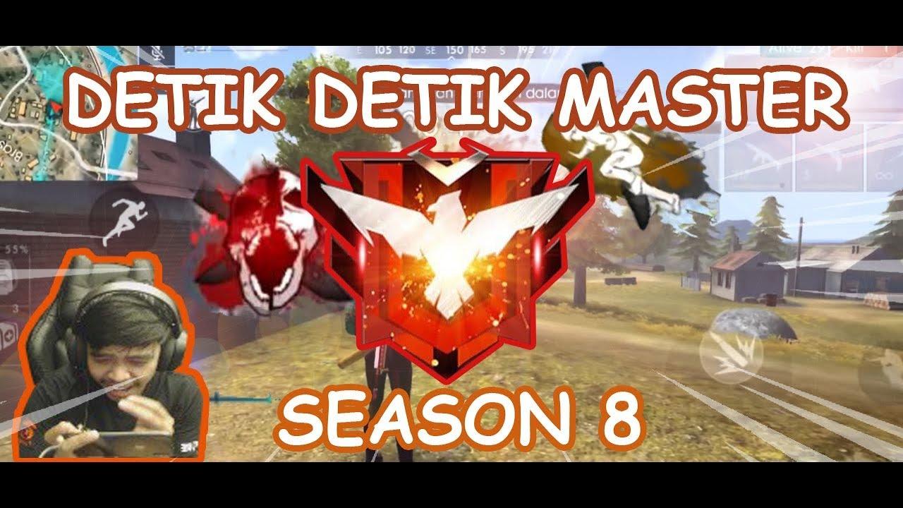 Akhirnya Master Juga Detik Detik Master Season 8 Free Fire Battleground Youtube