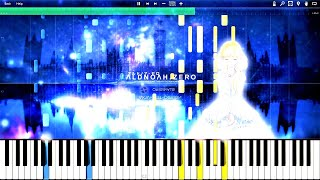 Aldnoah.Zero - Keep on Keeping on (EP7 BGM) | Piano Tutorial, アルドノア・ゼロ【ピアノ】