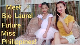 Interview with the Future Miss Philippines! Meet Bjo Laurel, AKA, Tiny Dancer July 6, 2020