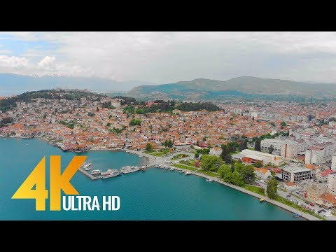 4K Lake Ohrid, Macedonia - Relax Video - Short Travel Guide/