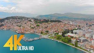 4K Lake Ohrid, Macedonia - Relax Video - Short Tra...