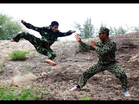 Lính đặc công Việt Nam sẵn sàng đáp trả những hành động hung hăng của Trung Quốc