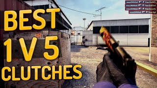 CS:GO - Best 1v5 Clutches ft. Shroud, NiKo, ScreaM & Hiko