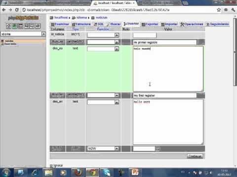 VideoTutorial 15 del Taller Práctico de PHP y MySQL