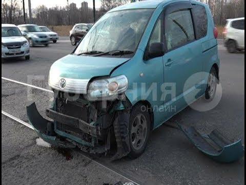 Кроссовер хабаровчанина перевернулся после небольшого ДТП на улице Краснореченской.  Mestoprotv