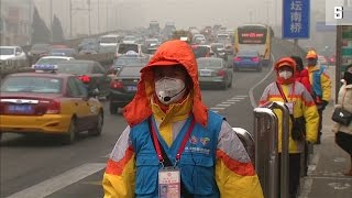 Smogalarm in Peking: