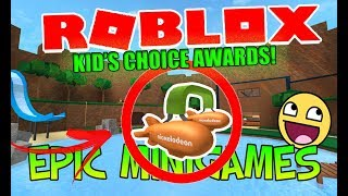 Como obter o Nickelodeon Kid ' s Choice Awards Roblox pt Español