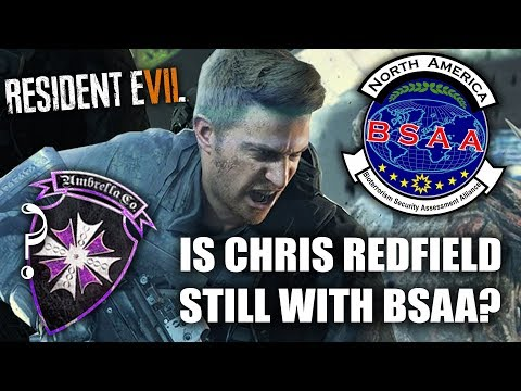 RESIDENT EVIL 7 NOT A HERO | Is Chris Redfield Working For Umbrella or The BSAA In RE7?