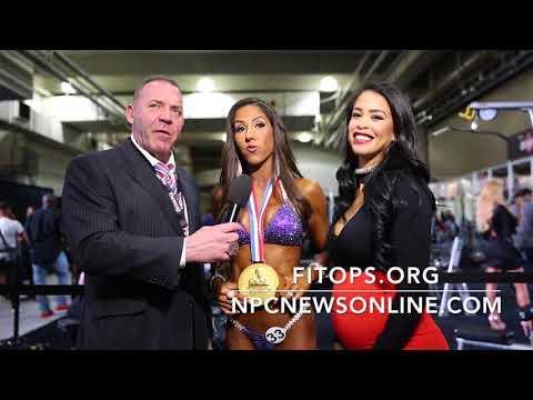 2017 IFBB Bikini Olympia Winner Angelica Teixeira interviewed By India Paulino & Tony Doherty