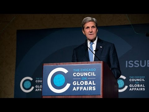 Secretary of State John Kerry on American Leadership
