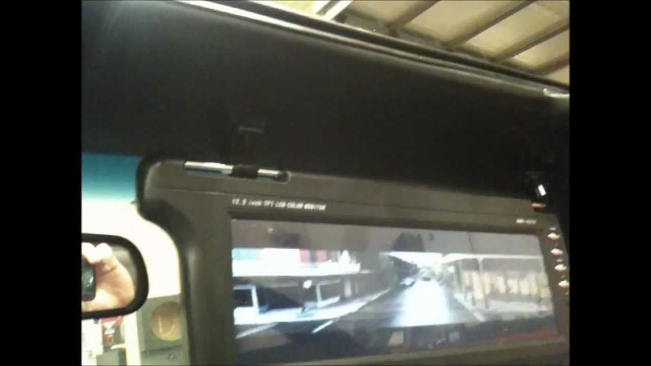 1998 Ford Mustang Convertible 12 2 Quot Visor Tv S Install
