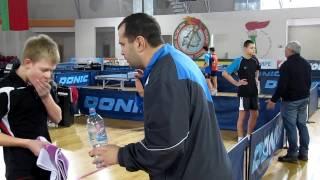 Настольный теннис  Первенство ДЮСШ 2002г  Могилев 02  2017  Кунац Георгий  Личные